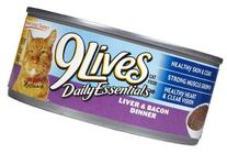 9Lives Ground Entree - Liver & Bacon Dinner - 24 x 5.5 oz