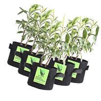 G-LEAF Grow Bag, 3-Gallon 5-Bag Grow Pot for Plant