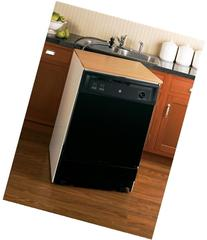 "GE GSC3500DBB 25"" Black Portable Full Console Dishwasher -"