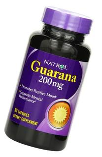 Natrol Guarana 200mg Capsules, 90-Count