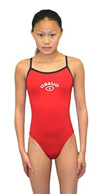 Adoretex women's Guard Cross Back Swimsuit - FGP07 - Red/