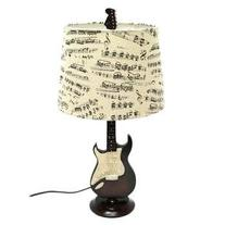 Creative Motion Guitar Desk Lamp, 24.5-Inch