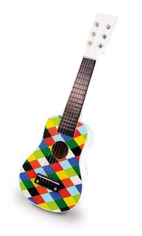 Vilac Guitar Baby Musical Toy, Harlequin