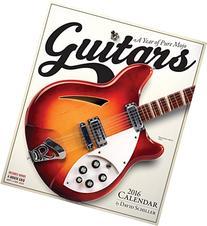 Guitars Wall Calendar 2016