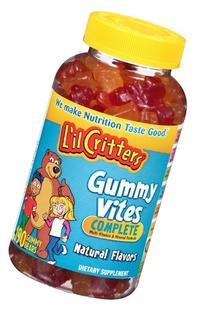 Lil Critters Gummy Bear Vitamins, Pack of 4, 190 Vitamins