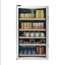 "GE GVS04BDWSS 19"" Beverage Center with 31-Bottle Capacity"