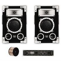Acoustic Audio GX-350 Speakers, Amp and Cables DJ PA Karaoke