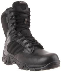 Police Boots Leather Waterproof Cushioned Ballistic Nylon