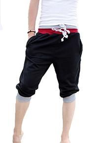 Fashion Mens Sports Gym Jogger Loose Casual Shorts Harem