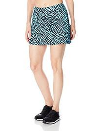 Gym Girl Ultra Skirt with Athletic Shorts, Safari Print,