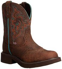 """Justin Boots Women's Gypsy Collection 8"""" Soft Toe,Barnwood"""