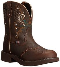 """Justin Boots Women's Gypsy Collection 8"""" Soft Toe,Copper"""