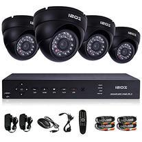 ZOSI 8Channel HD-TVI 1080P Lite Video DVR 4x Outdoor Indoor