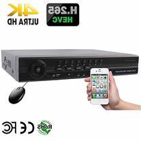 HDView H.265 8 Channel HD Megapixel NVR, 8 Channel PoE Ports