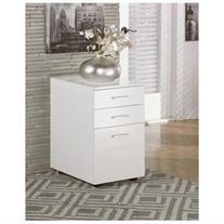 Ashley H410-12 Baraga File Cabinet - White