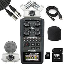 Zoom H6 Handy Recorder & 20' XLR Mic Cables