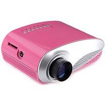 Generic H60 60 Lumens Home Mini LCD Projector Max 1920 x