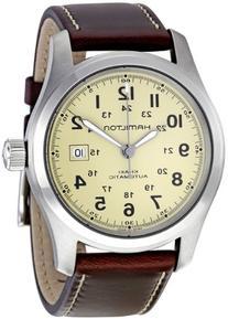 "Hamilton Men's H70555523 ""Khaki Field"" Stainless Steel Watch"