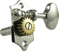 Grover H97-18N Sta-Tite Tuners, 18:1 Gear Ratio, 3-Per-Side
