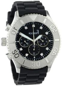 Freelook Men's HA5046-1 Black Chrono Black Dial Watch
