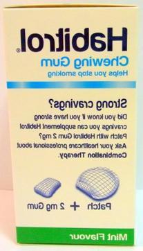 Habitrol Nicotine Gum 2mg Mint Flavor  6 Boxes