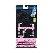 Catit Style Adjustable Harness and Leash Set, Small, Ribbon