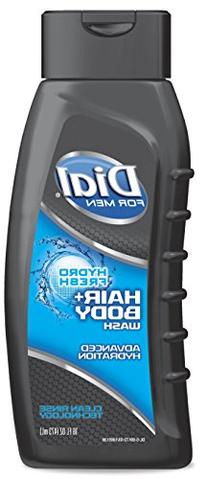 Dial for Men Hair and Body Wash, Hydro Fresh, 16 Ounce