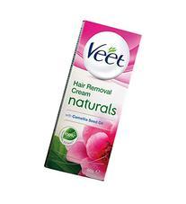 Veet Naturals Hair Removal Cream - Sensitive Skin  - 60 Gm