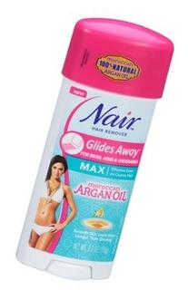 Nair Hair Remover Glides Away Nourish With Argan Oil 3.3