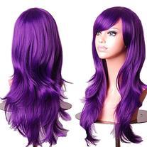 "28 ""Women's Hair Wig New Fashion Long Big Wavy Hair Heat"