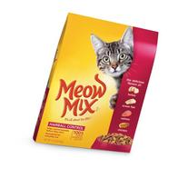 Meow Mix Hairball Control Dry Cat Food, 14.2-Pound