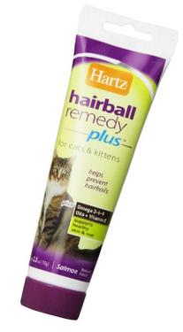 Hartz Hairball Remedy Plus Paste for Cats and Kittens, 2.5