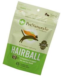 Pet Naturals of Vermont Hairball Soft Chews For Cats Chicken