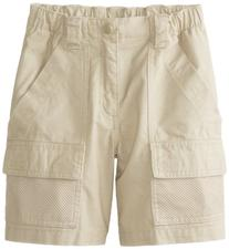 Columbia Boy's Half Moon Shorts , Fossil, Large