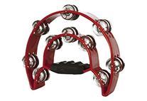 Pro Half Moon Tambourine Double Cutaway MT-1 -Red