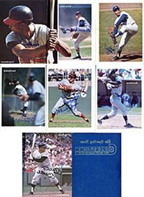 Hall of Famers Autographed / Signed The Sporting News
