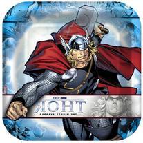 Hallmark Thor: The Mighty Avenger Square Dinner Plates