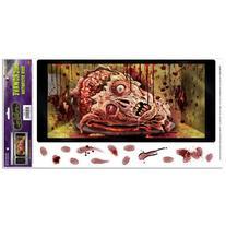 Beistle Halloween Microwave Door Decoration, 12-Inch by 24-