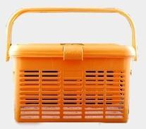 1 Safe Pet Carrier Orange Amazing Pet Carrier Travel 16x11.