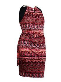 Jessica Simpson Women's Halter Printed Wrap Dress, Print, 14