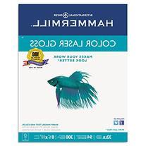 Hammermill 163110 Color Laser Gloss Paper, 94 Brightness,