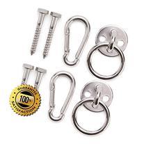 Premium Hammock Hooks by Amerigo - Best Hanging Kit for