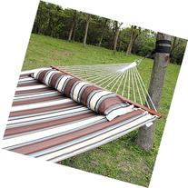 Ollieroo® Fall Camp Hammock Quilted Fabric With Pillow