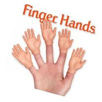Hand Finger Puppets Set of 5 by Accoutrements - 12513