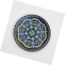 Hand painted mandala plate Eastern Sea, Decorative plates,