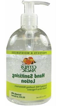Citrus Magic Hand Sanitizing Lotion, 12 Ounce