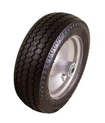 10in Hand Truck Tire Offset Hub .75 Bearing