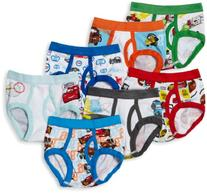 Handcraft Little Boys' Disney Cars 7 Pack Brief, Multi, 2T/