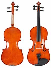 ADM Handcrafted Solid Wood Student Violin 1/8 Size with