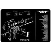 TekMat 11-Inch X 17-Inch Handgun Cleaning Mat with 1911